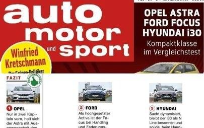 Opel, Astra, Ford Focus, Hyundai i30, Auto Motor