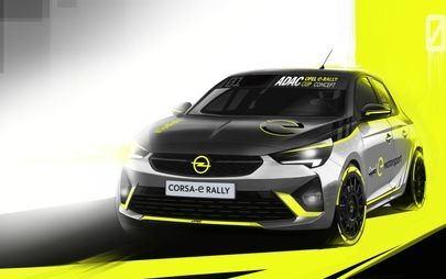 Világpremier Frankfurtban: első gyártóként mutat be az Opel elektromos raliautót